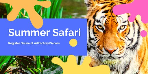 Summer Camp Session 4 Summer Safari *Only 3 Afternoon Spots available*