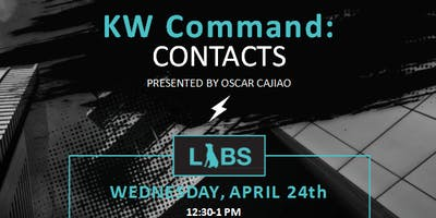KW Command: CONTACTS with Oscar Cajiao