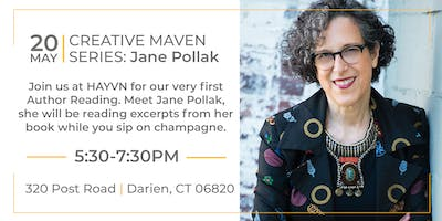 AN EVENING WITH AUTHOR JANE POLLAK