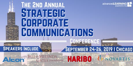 2nd Annual Strategic Corporate Communications Conference tickets