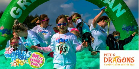 Bubble Rush - Exeter: The fun run through coloured bubbles! tickets