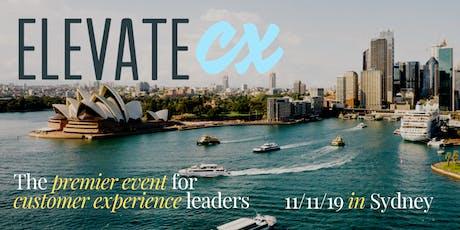 ElevateCX Sydney tickets