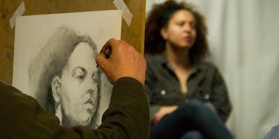 3 Day Charcoal Portrait Course