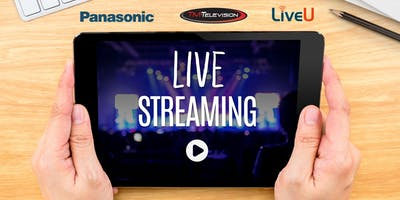 Production and Streaming of Live Events Lunch-and-Learn