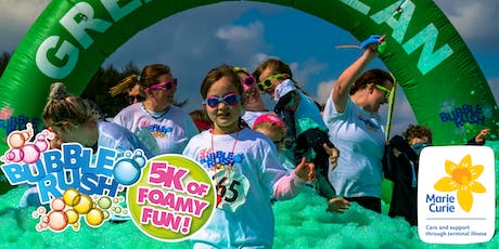 Bubble Rush - Newcastle-upon-Tyne: The fun run through coloured bubbles! tickets