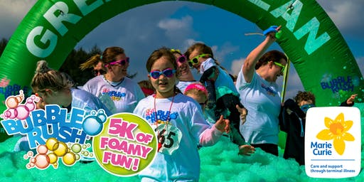 Bubble Rush - Newcastle-upon-Tyne: The fun run through coloured bubbles!