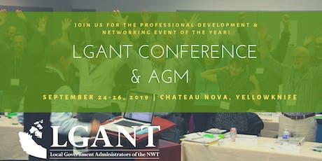 LGANT Professional Development Conference & AGM 2019 tickets