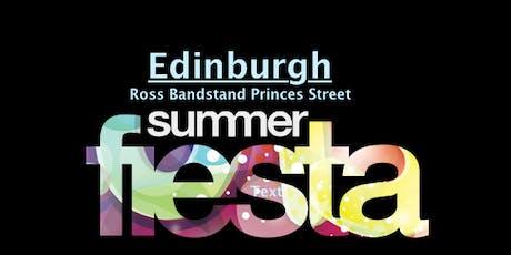 Edinburgh Summer Fiesta tickets
