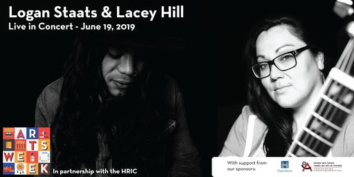 Logan Staats with guest Lacey Hill - Live in Concert - Hamilton Arts Week