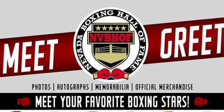 Nevada Boxing Hall of Fame Meet & Greet/Fan Experience tickets