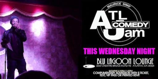 ATL Comedy Jam @ Blu Lagoon Lounge