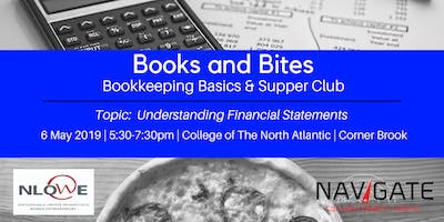 Books and Bites: Bookkeeping Basics and Supper Club