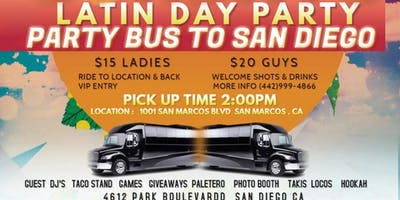 Taki Sunday party bus