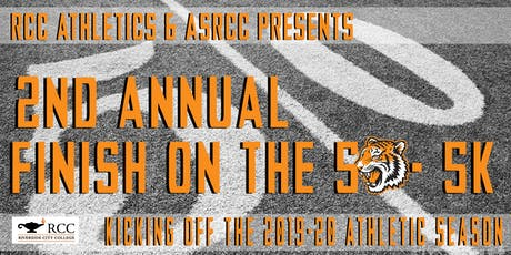 """2019 RCC """"Finish on the 50"""" - 5k! tickets"""