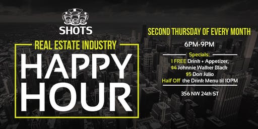 Wynwood Real Estate Industry Happy Hour
