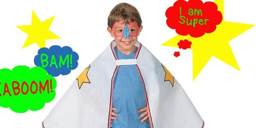 Kids Superhero Capes & Masks