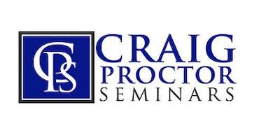 Craig Proctor Seminar - Costa Mesa