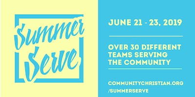 Summer Serve 2019 at COMMUNITY