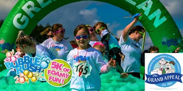 Bubble Rush - Bristol: The fun run through coloured bubbles!