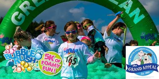 Bubble Rush - Bristol: The fun run through coloured bubbles!