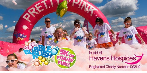 Southend-On-Sea Bubble Rush - the fun run through coloured bubbles!