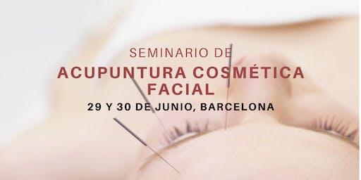 Seminario de acupuntura cosmética facial en Barcelona