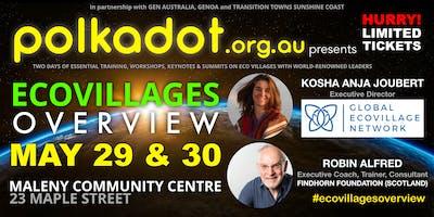 polkadot Eco Villages Overview: Kosha Joubert (GEN)•Robin Alfred (Findhorn)