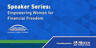 Speaker Series: Empowering Women for Financial Freedom