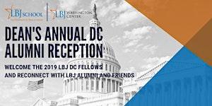 LBJ School Dean's Annual DC Alumni Reception