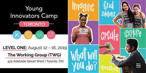 Young Innovators LEVEL 1 (August) - Toronto (Downtown)