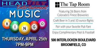 Music Bingo at The Tap Room at Omni Interlocken Hotel