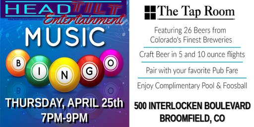 Music Bingo at The Tap Room at Omni Interlocken Hotel