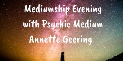 Mediumship Evening With Annette Geering - 5th July Bradford on Avon