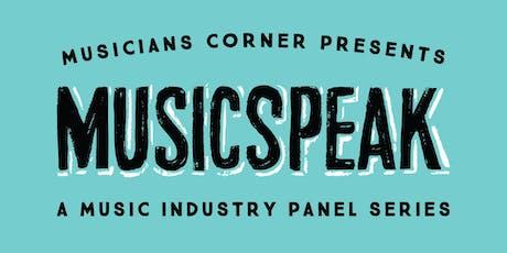 MUSICSPEAK : Publishing 101 tickets
