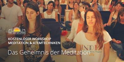 Entdecke das Geheimnis der Meditation - Kostenloser Einführungsworkshop in Berlin