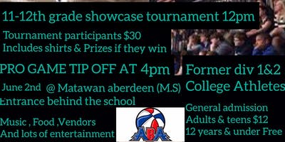 Central Jersey Sharks Pro basketball game & youth basketball tournament