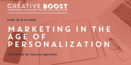Creative Boost — Marketing in the age of personalization  tickets