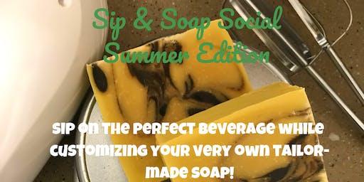 Sip & Soap Social