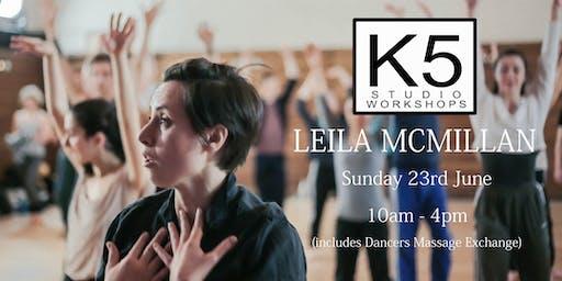 K5 Studio Workshop - Leila McMillan