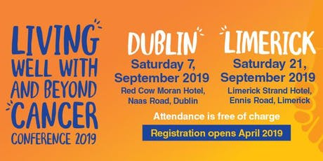 Living Well With and Beyond Cancer Conference 2019 tickets
