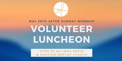 Volunteer Luncheon