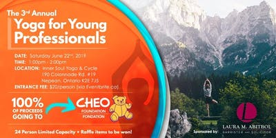 Third Annual Yoga for Young Professionals (Benefiting the CHEO)