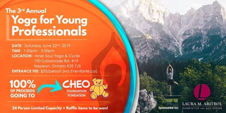 Third Annual Yoga for Young Professionals (Benefiting the CHEO)  tickets
