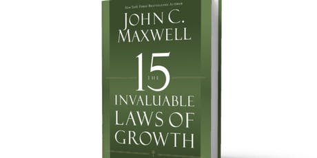 John Maxwell 15 Invaluable Laws of Growth tickets
