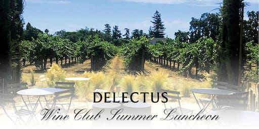 Delectus Wine Club Summer Luncheon