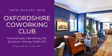 Oxfordshire Coworking Club - Witney tickets