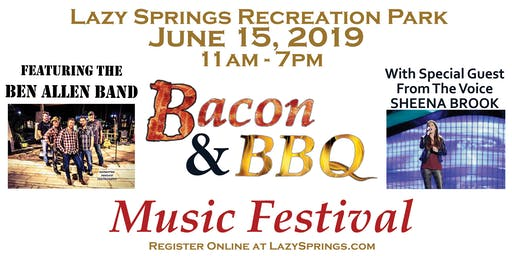 Bacon and BBQ Music Festival