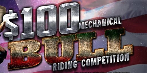 $100 RIDE THE BULL CONTEST