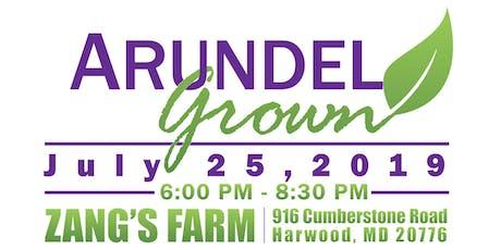 Arundel Grown: Dinner on the Farm tickets