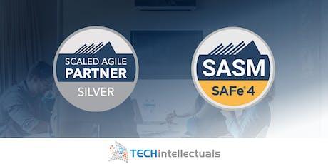 SAFe® Advanced Scrum Master - SASM Certification - Calgary, Alberta tickets